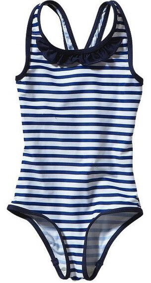 Patagonia Baby Qt Swimsuit Nautical Stripe: Channel Blue